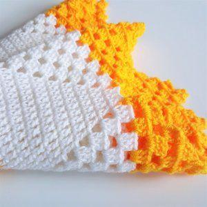 Round crochet afghan 41'' x 41''